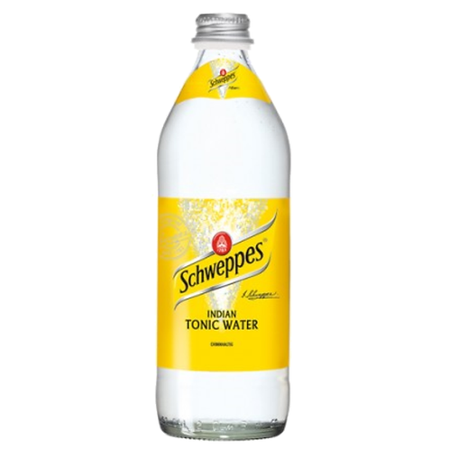 Schweppes Indian Tonic Water 18 x 0,5 Liter (Glas)