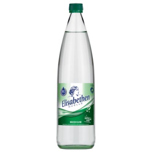 Elisabethen Quelle Medium 6 x 1 Liter (Glas)