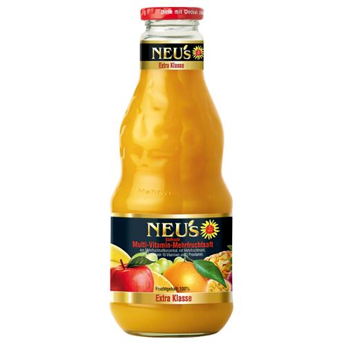 Neu's Multivitamin-Mehrfruchtsaft 12 X 0,2 Liter (Glas)