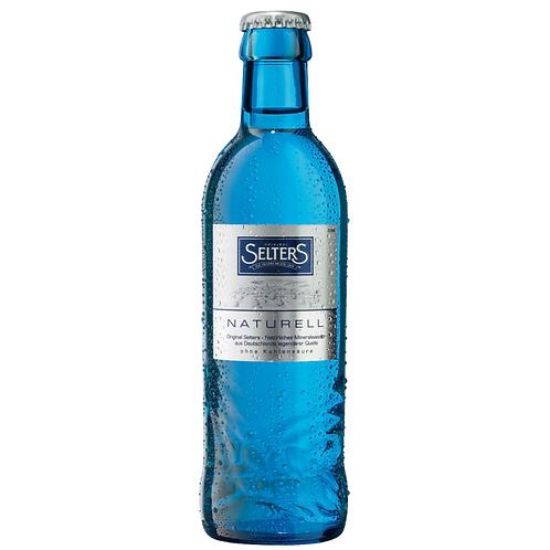 Selters Gastro Naturell 24 x 0,25 Liter (Glas)