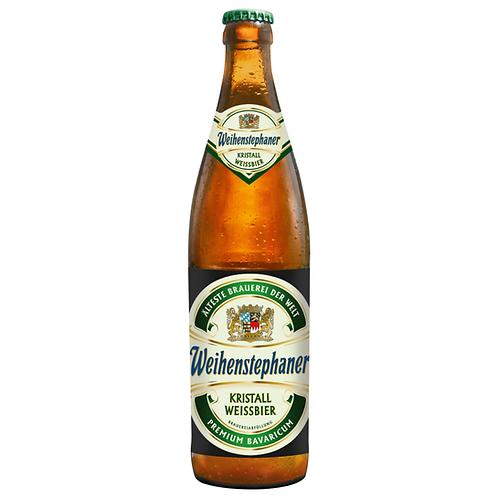 Weihenstephaner Kristall Weissbier 20 x 0,5 Liter (Glas)