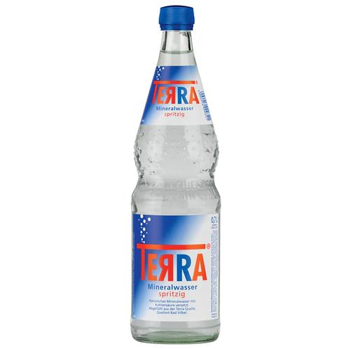 Terra Mineralwasser Spritzig 12 x 0,7 Liter (Glas)