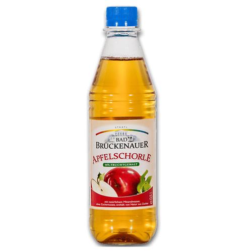 Bad Brückenauer Apfelschorle 20 x 0,5 Liter (PET)