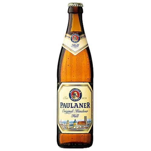 Paulaner Hefe-Weißbier naturtrüb 20 x 0,5 Liter (Glas)