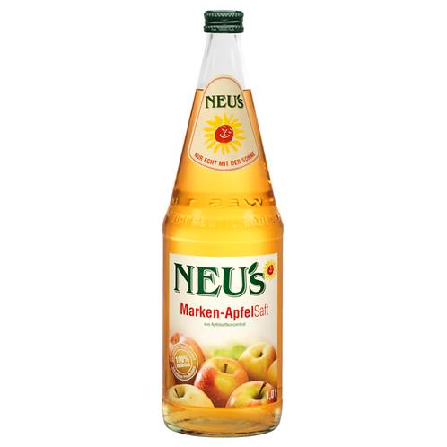 Neu's Apfelsaft 6 X1 Liter ( Glas )