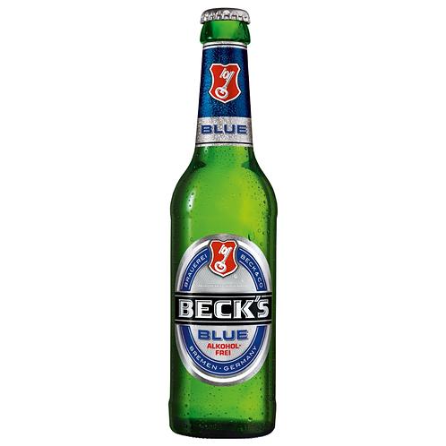 Beck's Blue Alkoholfrei 24 x 0,33 Liter (Glas)