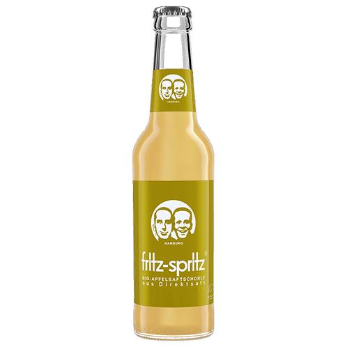 Fritz-Spritz Bio-Apfelsaftschorle 24 x 0,3 Liter (Glas)