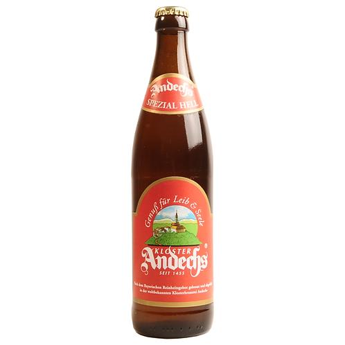 Andechser Spezial Hell 20 x 0,5 Liter (Glas)