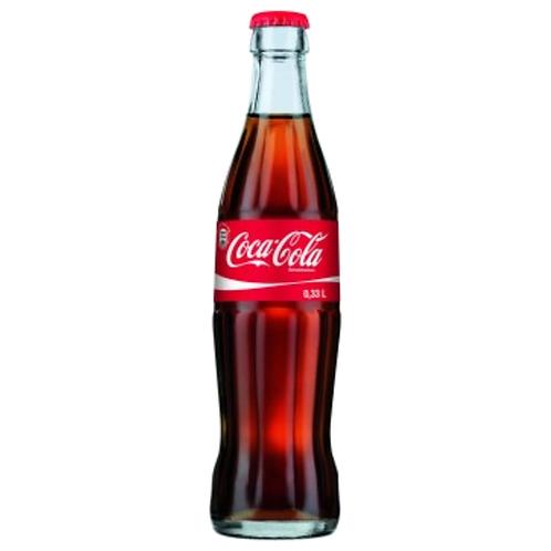 Coca Cola 24 x 0,33 Liter (Glas)