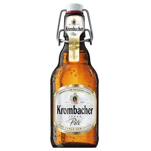 Krombacher Pils Bügelflasche 20 x 0,33 Liter (Glas)