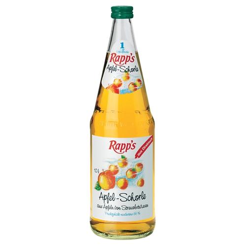 Rapp's Apfelschorle 24 x 0,2 Liter (Glas)