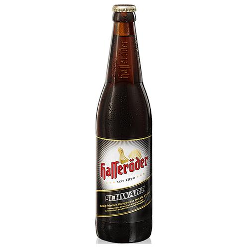 Hasseröder Schwarzbier 20 x 0,5 Liter (Glas)