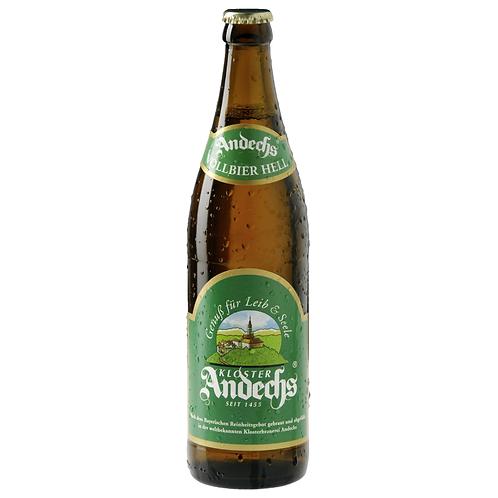 Andechser Weissbier Hell 20 x 0,5 Liter (Glas)