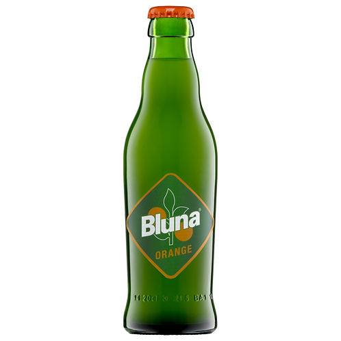 Bluna Orange 24 x 0,2 Liter (Glas)