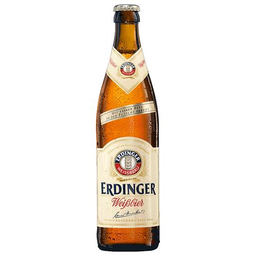 Erdinger Weißbier Hell 20 x 0,5 Liter (Glas)