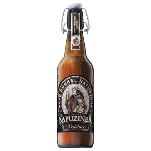 Kapuziner Weißbier Hell Bügelflasche 20 x 0,5 Liter (Glas)