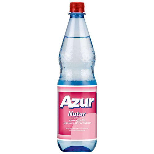 Azur Natur 12 x 1 Liter (PET)