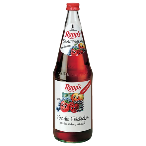 Rapp's Starke Früchtchen 6 x 1 Liter (Glas)