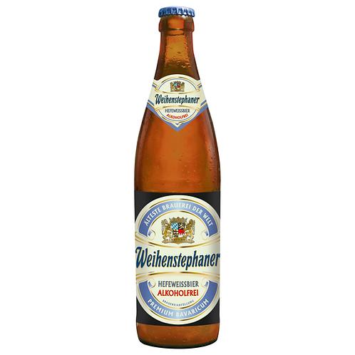 Weihenstephan Hefeweissbier Alkoholfrei 20 x 0,5 Liter (Glas)