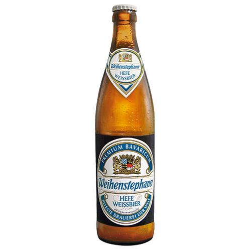 Weihenstephaner Hefe Weissbier 20 x 0,5 Liter (Glas)