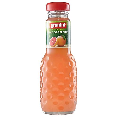 Granini Trinkgenuss Pink Grapefruit 24 x 0,2 Liter (Glas)