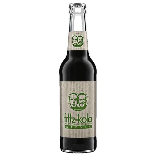Fritz-Kola Stevia 24 x 0,33 Liter (Glas)