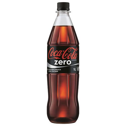 Coca Cola Zero Sugar 12 x 1 Liter (PET)