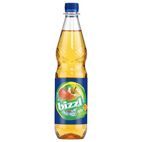 Bizzl Apfelschorle 12 x 0,75 Liter (PET)
