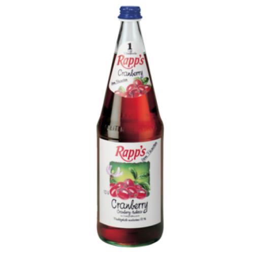 Rapp's Cranberry 6 x 1 Liter (Glas)