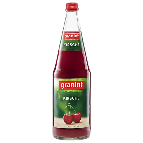 Granini Trinkgenuss Kirsche 6 x 1 Liter (Glas)