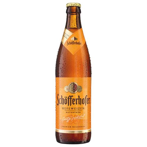 Schöfferhofer Hefeweizen Hell 20 x 0,5 Liter (Glas)
