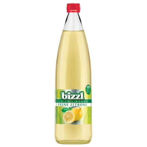 Bizzl Premium Zitronenlimonade12 x 0,75 Liter (Glas)