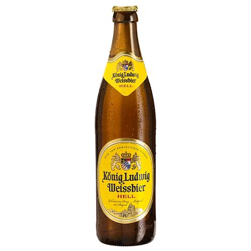 König Ludwig Weissbier Hell 20 x 0,5 Liter (Glas)