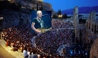 Sting: Once Again Greece Shown How to Be Civilized