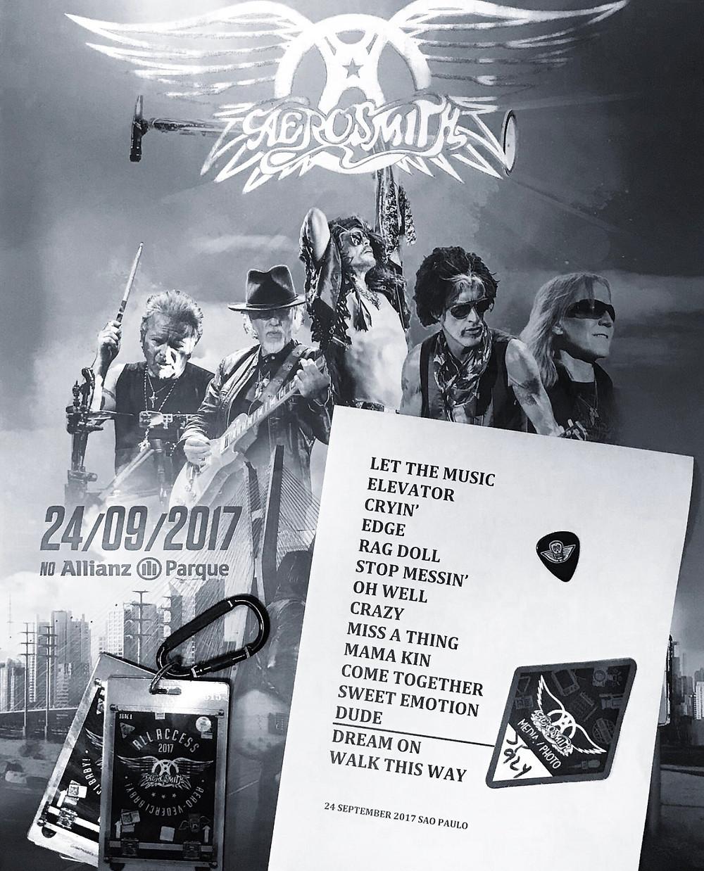 Aerosmith America Latin Tour