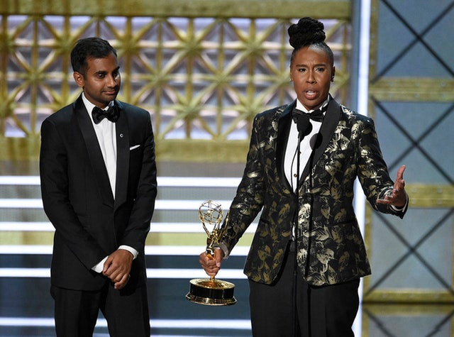 Lena Waithe the first African-American women with an Emmy Awards