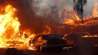 Southern California burning explained by the climate scientist.