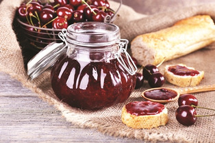 Red Cherries Jam Recipe