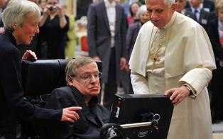 Walking Stephen Hawking, the Genius to his last home