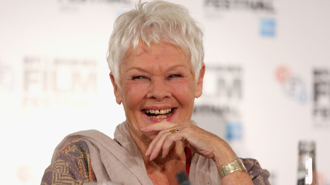 'You have everything wrong with your face' they said to Judi Dench