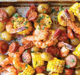 Shrimp Boil Alla Albanian