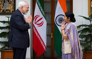 India and Iran against the U.S. Rejection of the Nuclear Accord.