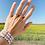 Thumbnail: Bracelet multicolors personnalisé Mum Of
