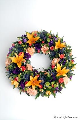 Posy Ring Wreath