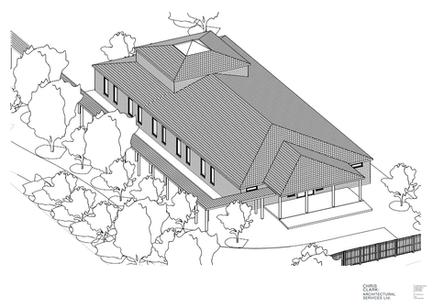 Progress on development of the Meditation Hall