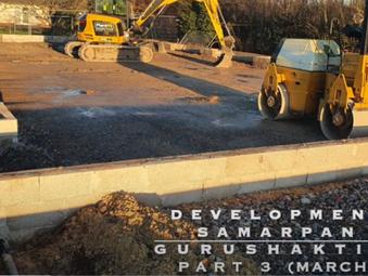 Construction of UK GuruShakti Dham (Meditation Hall) - project update March 2020