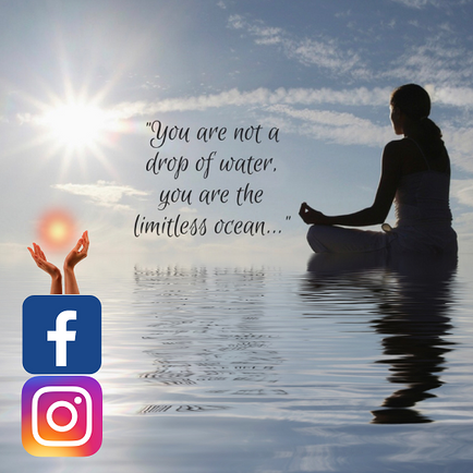 Samarpan Meditation UK Facebook and Instagram launch