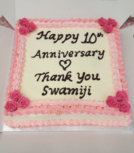 10th Anniversary celebrations and message for UK