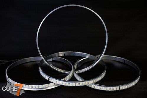 White LED Wheel Rings