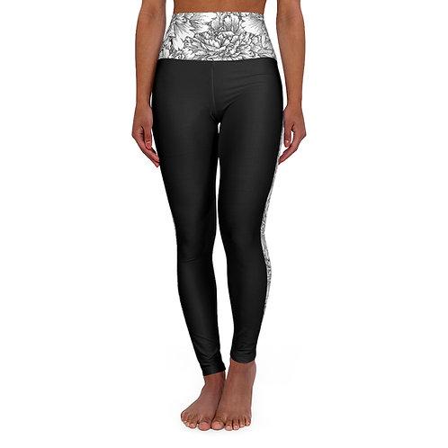 High Waisted Yoga Leggings (Skinny)